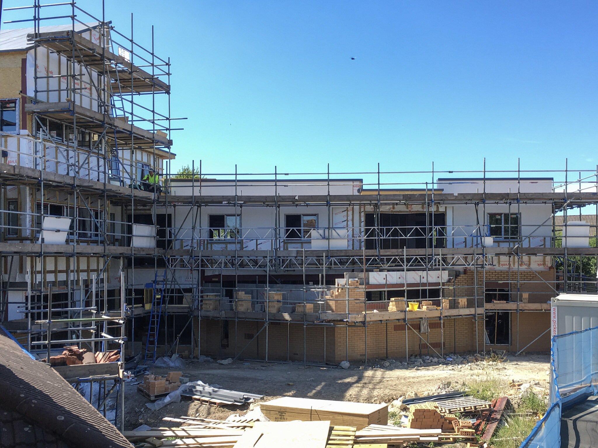 new build July 2017 progress